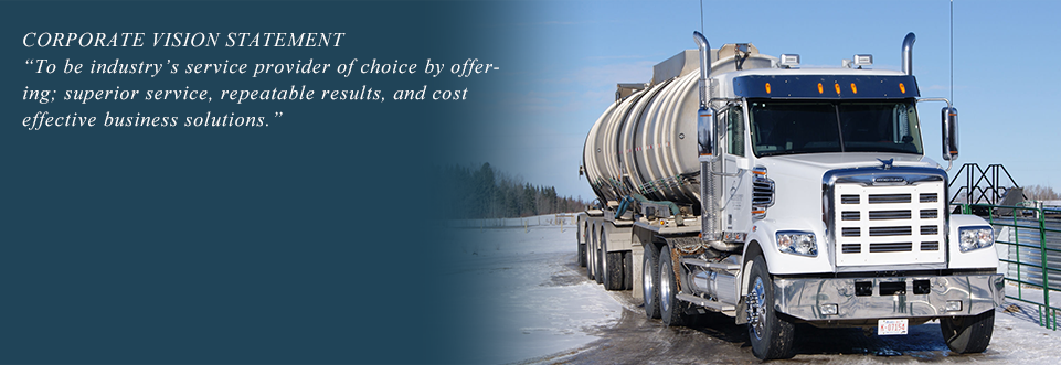 Foothills specializes in produced fluid handling including